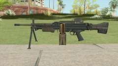 Battlefield 4 MG4 для GTA San Andreas