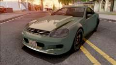 GTA IV Benefactor Feltzer IVF Style для GTA San Andreas