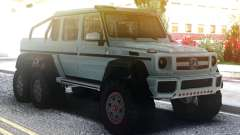 Mercedes-Benz G63 AMG 6x6 Stock для GTA San Andreas