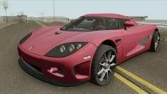 Koenigsegg CCX HQ 2006 для GTA San Andreas