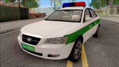 Hyundai Sonata 2009 Police для GTA San Andreas
