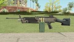 Advanced MG (M249) GTA IV EFLC для GTA San Andreas