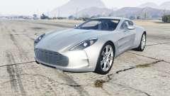 Aston Martin One-77 2012 для GTA 5