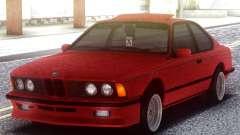 BMW M6 E24 Red для GTA San Andreas