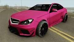 Mercedes-Benz C63 2014 для GTA San Andreas