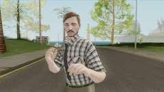 GTA Online Skin The Workaholic V1 для GTA San Andreas