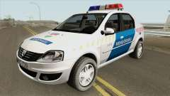 Dacia Logan Magyar Rendorseg для GTA San Andreas