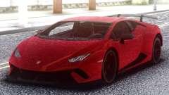 Lamborghini Huracan Performance 2018 для GTA San Andreas
