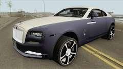 Rolls Royce Wraith 2018 IVF для GTA San Andreas