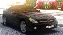 Mercedes-Benz SL65 AMG Black Original для GTA San Andreas