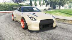 Nissan GT-R (R35) Liberty Walk для GTA 5