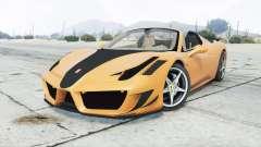 Ferrari 458 Spider Mansory Monaco Edition 2012 для GTA 5
