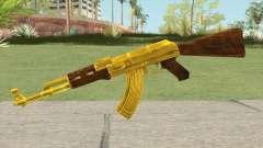 COD: MW1 AK-47 (Gold) для GTA San Andreas