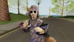 Hippie Skin V1 для GTA San Andreas