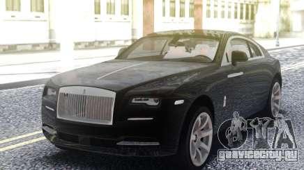 Rolls-Royce Wraith Black для GTA San Andreas