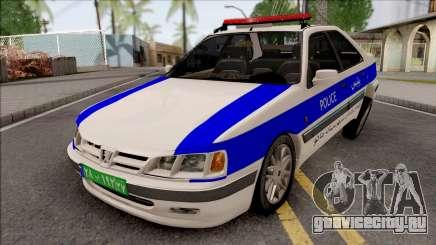 Peugeot Pars ELX Police для GTA San Andreas