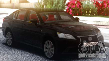 Lexus GS350F 2013 Black для GTA San Andreas