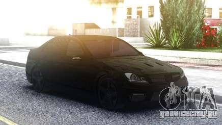 Mercedes-Benz C63 AMG AllBlack для GTA San Andreas
