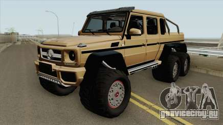 Mercedes-Benz G63 AMG 6x6 HQ для GTA San Andreas