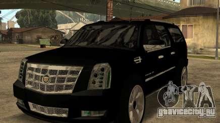Cadillac Escalade ESV Black для GTA San Andreas