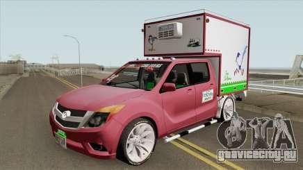 Mazda BT 50 Con Furgon для GTA San Andreas
