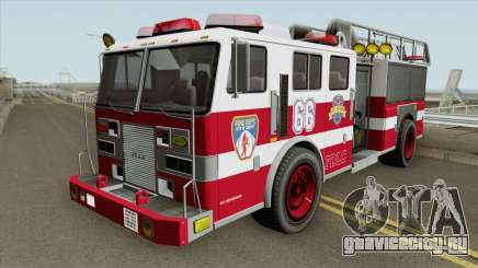Firetruck Ladder GTA IV для GTA San Andreas