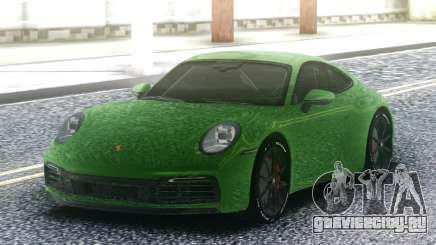Porsche 911 992 для GTA San Andreas