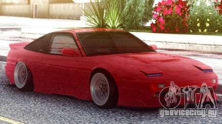 Nissan 180SX Red для GTA San Andreas