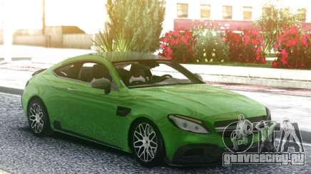 Mercedes-Benz W205 Coupe Brabus 650 для GTA San Andreas