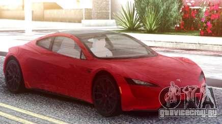 Tesla Motors Roadster 2020 Red для GTA San Andreas