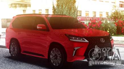 Lexus LX570 2019 для GTA San Andreas