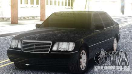 Mercedes-Benz S600 W140 Black для GTA San Andreas