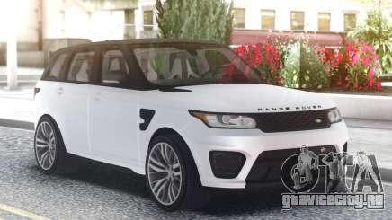 Range Rover SVR White для GTA San Andreas