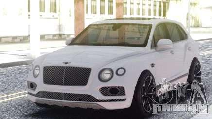 Bentley Bentayga W12 Touring для GTA San Andreas