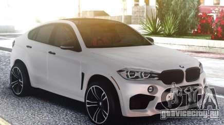 BMW X6M Classic White для GTA San Andreas