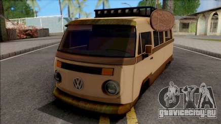 Volkswagen Kombi Classic Retro v2 для GTA San Andreas