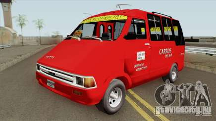 Toyota Hilux Colectivo Colombiano для GTA San Andreas