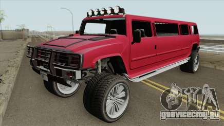 Mammoth Patriot Stretch V2 GTA V для GTA San Andreas