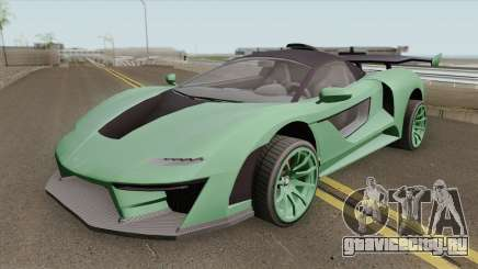 Progen Emerus GTA V (Stock) для GTA San Andreas