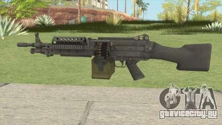 Battlefield 3 M249 для GTA San Andreas