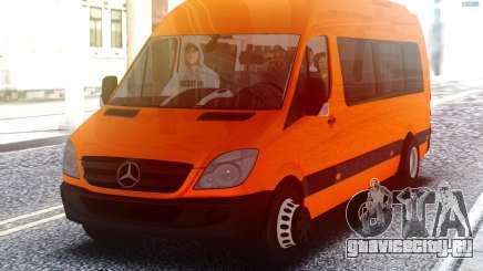 Mercedes-Benz Sprinter с пассажирами для GTA San Andreas
