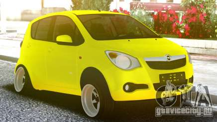 OPEL Agila Yellow для GTA San Andreas