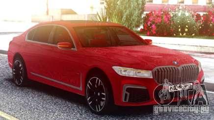 BMW M760LI 2019 для GTA San Andreas