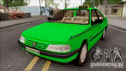 Peugeot 405 GLX Taxi v3 для GTA San Andreas