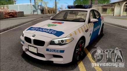 BMW M5 F10 Magyar Rendorseg для GTA San Andreas