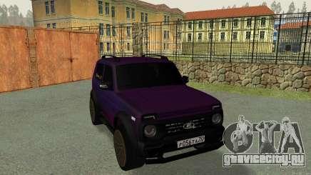 LADA Niva Bronto (ZHAROV_A_573) для GTA San Andreas