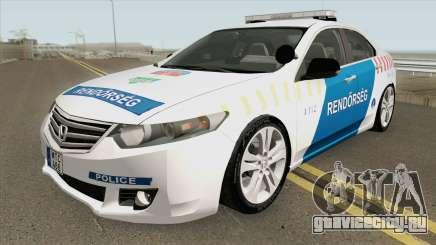 Honda Accord Magyar Rendorseg для GTA San Andreas