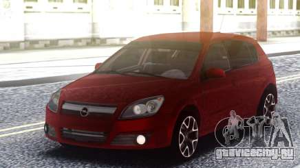 Renault Clio Red для GTA San Andreas