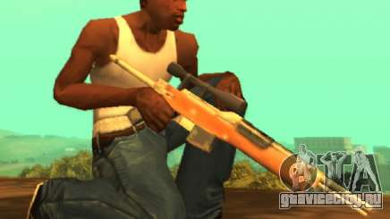 Снайперская М14 [SA стиль] для GTA San Andreas