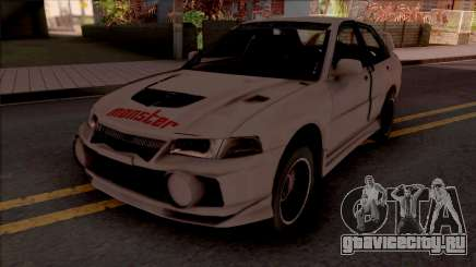 Mitsubishi Lancer Evolution IV RS Empress для GTA San Andreas